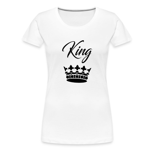 king crown - T-shirt Premium Femme