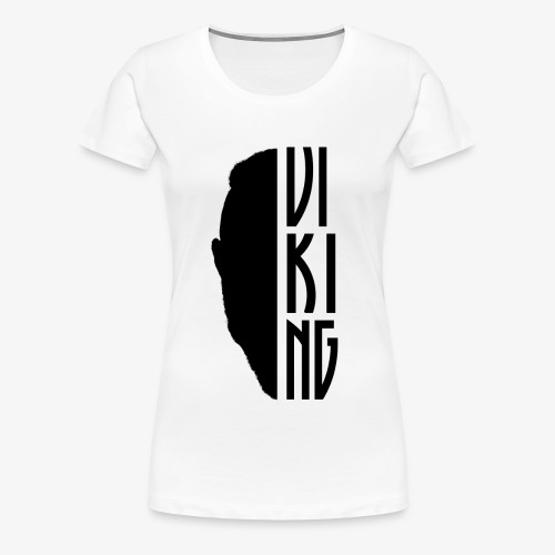 Viking Face - Frauen Premium T-Shirt