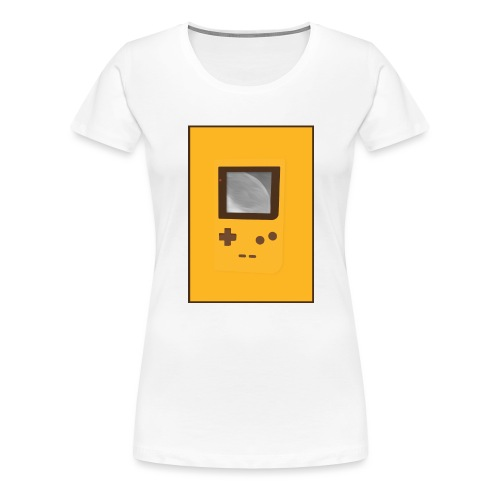 Game Boy Nostalgi - Laurids B Design - Dame premium T-shirt