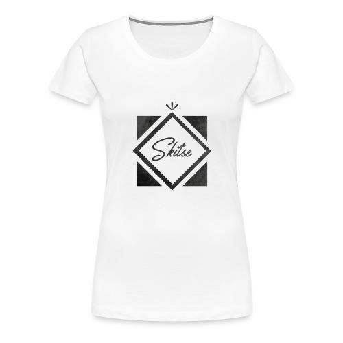 T-shirt Skitse losange - T-shirt Premium Femme