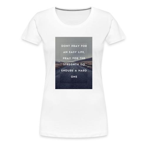 bruce lee quote - Premium-T-shirt dam