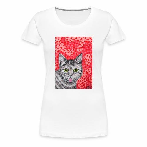 The Finnish Cat - Women's Premium T-Shirt