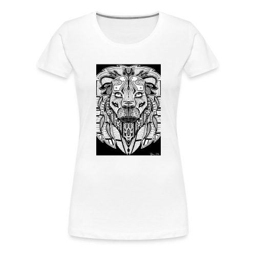 Lion - Frauen Premium T-Shirt