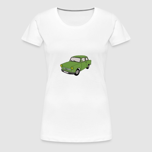 Trabbi DDR - Frauen Premium T-Shirt