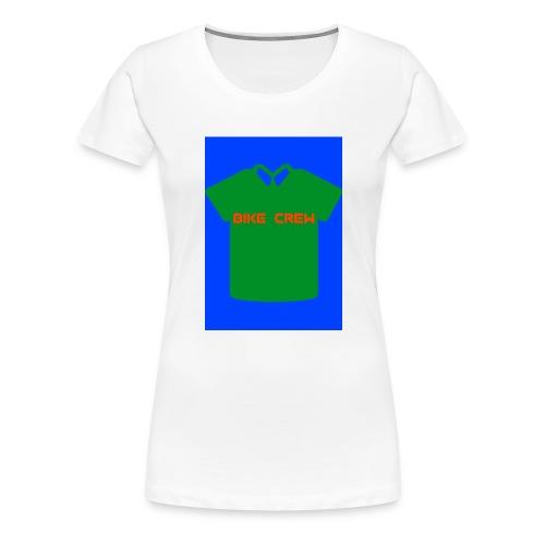 Bike Crew Merch (grün) - Frauen Premium T-Shirt
