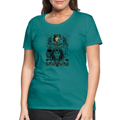 Mother EARTH NatureContest by T-shirt chic et choc - T-shirt Premium Femme