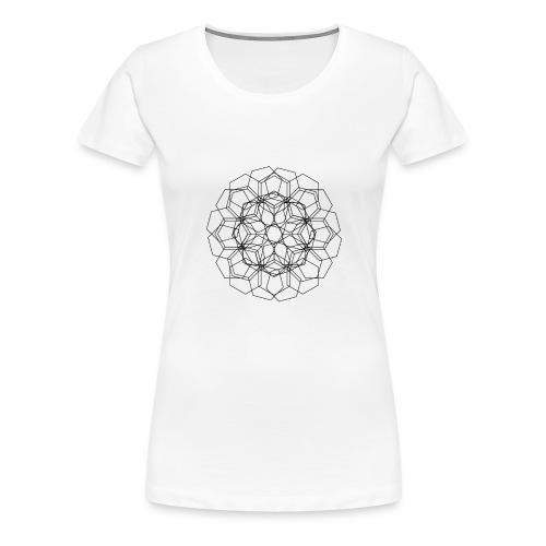Blomstermix - Dame premium T-shirt