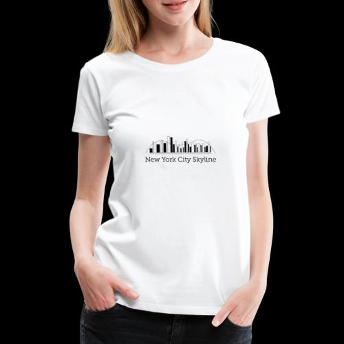 ny skyline - Women's Premium T-Shirt
