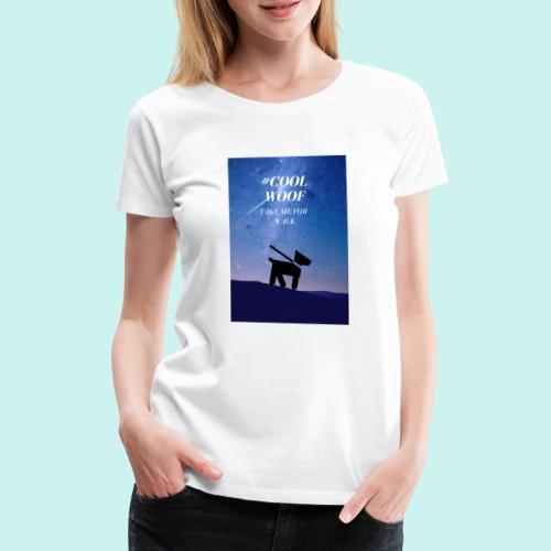 TAKE ME FOR WALK - Koszulka damska Premium
