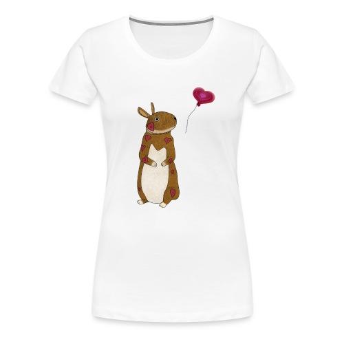 Valentine bunny - Women's Premium T-Shirt