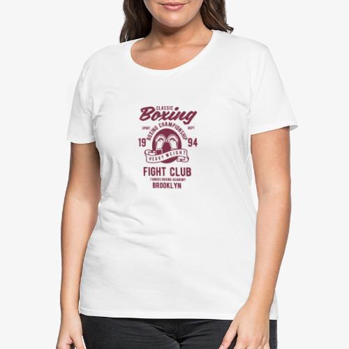 Classic Boxing - T-shirt Premium Femme
