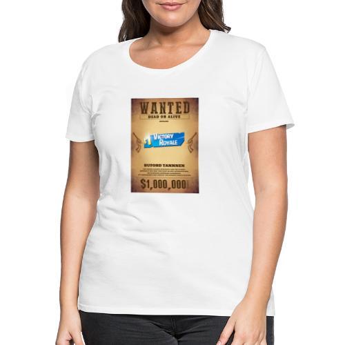 Man wanted - Women's Premium T-Shirt