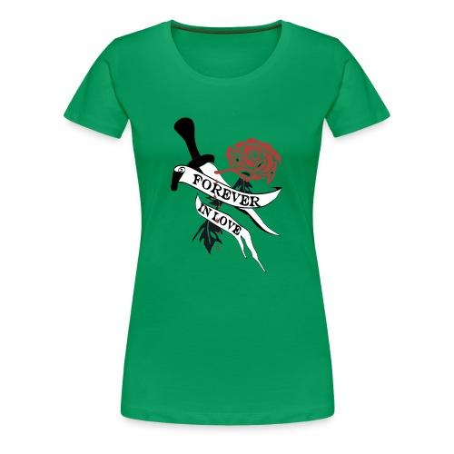 Forever in Love - Frauen Premium T-Shirt