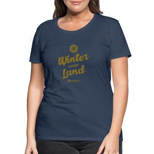 Winter Wonder Land - Naisten premium t-paita