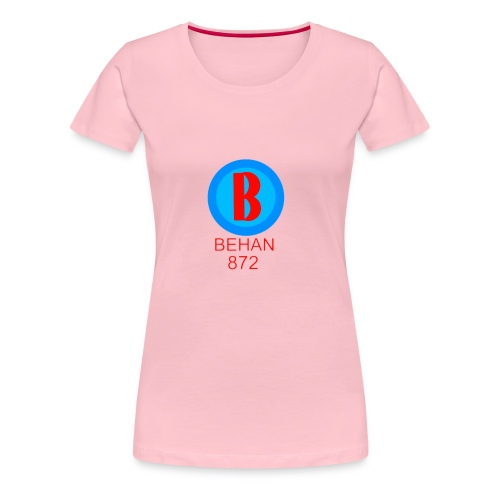 Rep that Behan 872 logo guys peace - Women's Premium T-Shirt