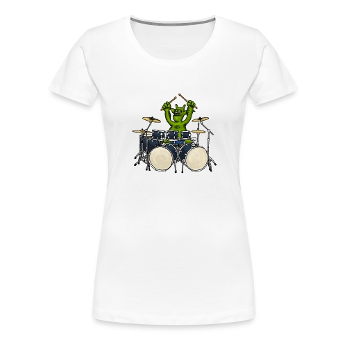 Kobold Drummer - Women's Premium T-Shirt