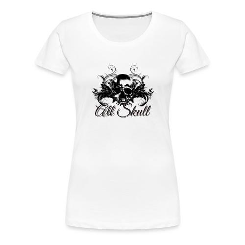 allskull1 - Camiseta premium mujer