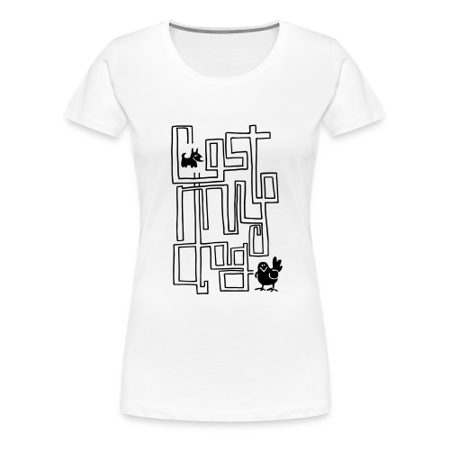 maze rework - Women's Premium T-Shirt