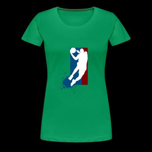 basket ball - T-shirt Premium Femme