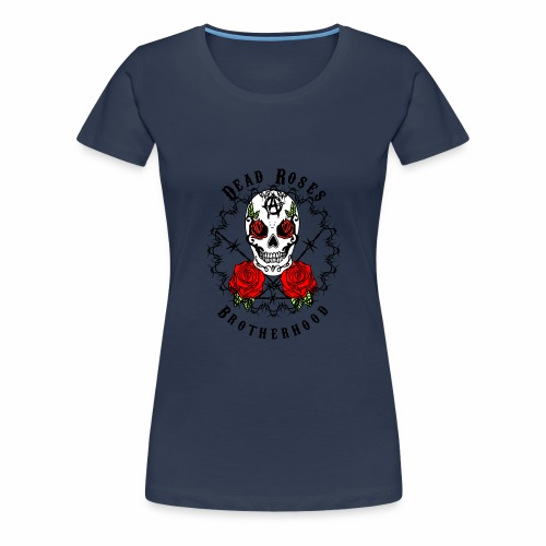 Dead Roses 2nd Logo - Women's Premium T-Shirt