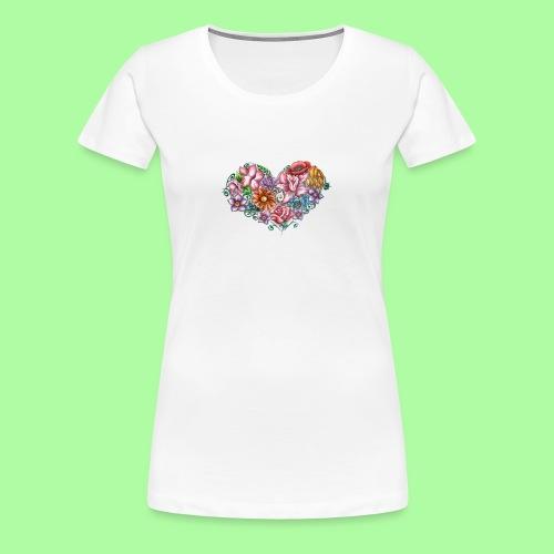feeling's simbol - Maglietta Premium da donna