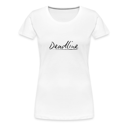 Deadline #3 Techno - Frauen Premium T-Shirt
