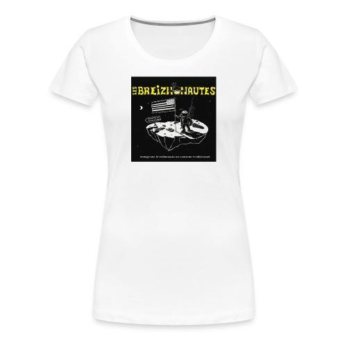 Un breizhonaute - T-shirt Premium Femme
