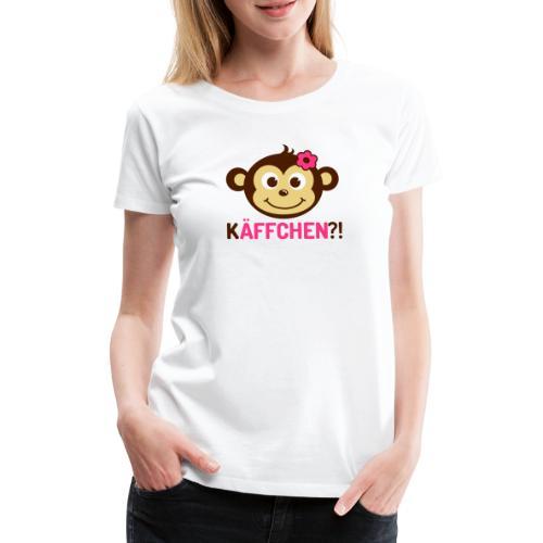 Monkey Käffchen Girl 3 - Frauen Premium T-Shirt