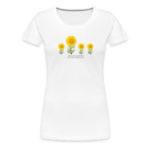 4 Blumen - Frauen Premium T-Shirt