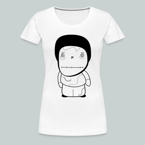 Curious boy - Women's Premium T-Shirt