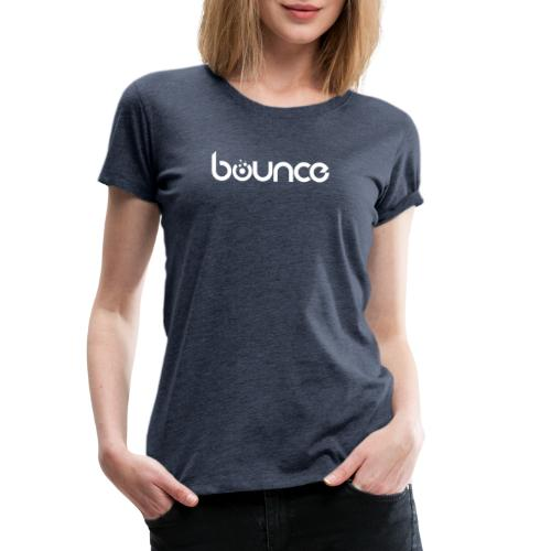 Bounce White - Frauen Premium T-Shirt