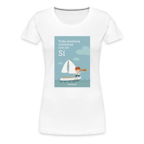 Camiseta Toda Aventura de Wanaleads - Camiseta premium mujer