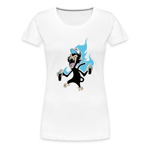 MonkeyKool - T-shirt Premium Femme
