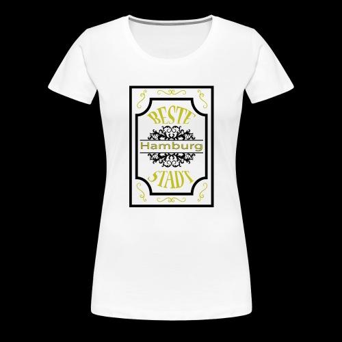 Hamburg Version 3 - Frauen Premium T-Shirt