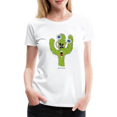 Mystified Cactus - Vrouwen Premium T-shirt