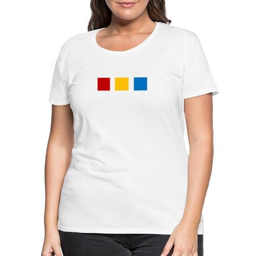 Modernes te.comp Logo - Frauen Premium T-Shirt