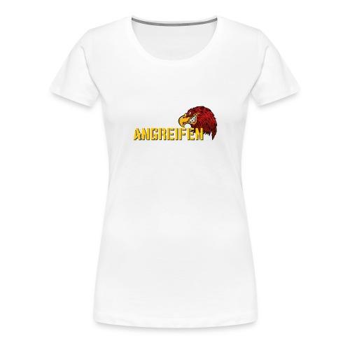 angreifen_1 - Frauen Premium T-Shirt