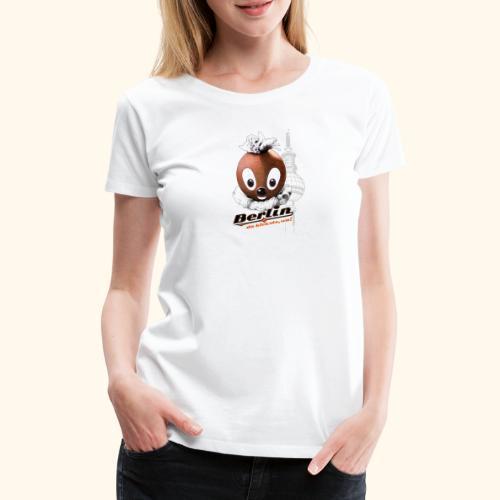 Pittiplatsch 3D Berlin auf hell - Frauen Premium T-Shirt