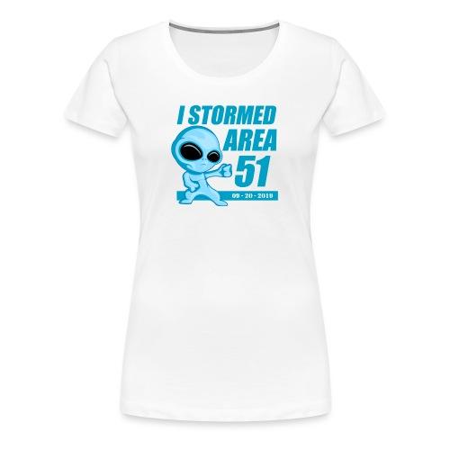 I Stormed Area 51 - Women's Premium T-Shirt