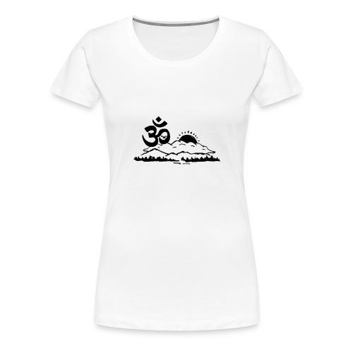Ohm Landscape - Frauen Premium T-Shirt