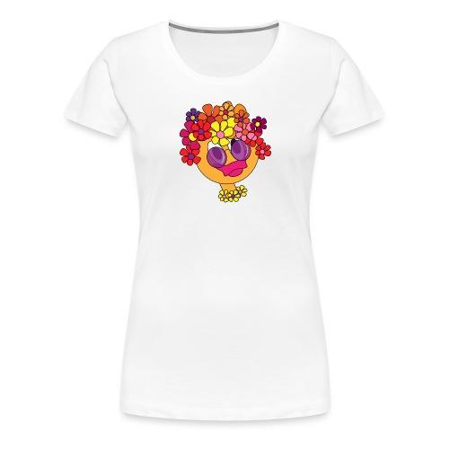 flowergirl - Frauen Premium T-Shirt
