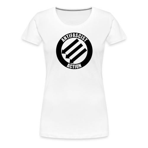 Anti-fascist Action - Koszulka damska Premium