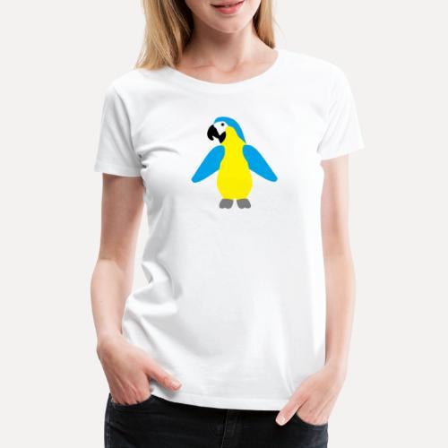 Gelbbrustara - Women's Premium T-Shirt
