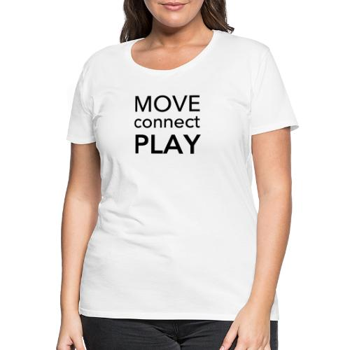 Move Connect Play - AcroYoga International - Women's Premium T-Shirt