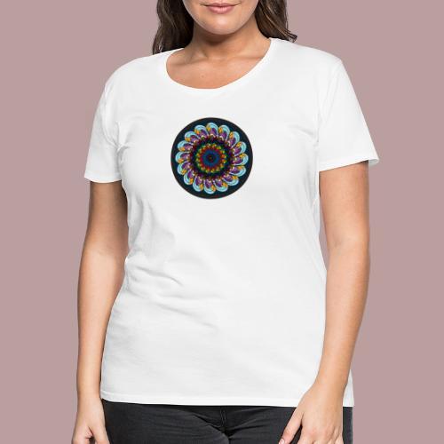 Grainy Flower - Frauen Premium T-Shirt