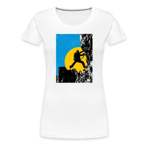 Klettersteig - Frauen Premium T-Shirt