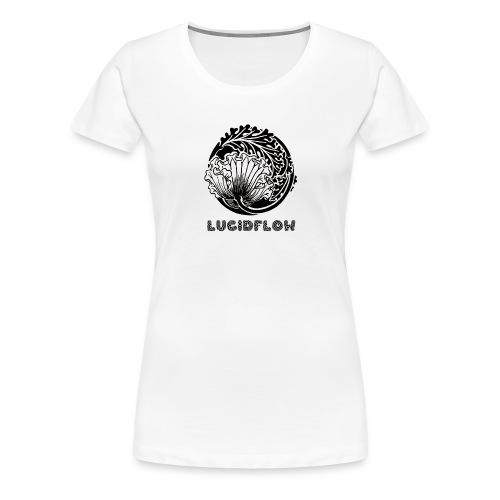 Lucidflow Black Transparent - Women's Premium T-Shirt