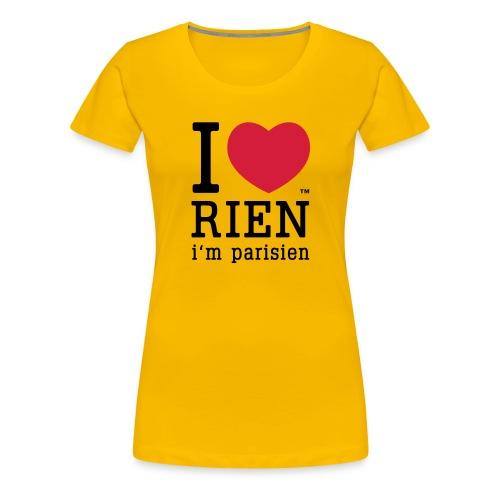 iloverienclassic - T-shirt Premium Femme