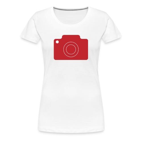 Fotoapperat - Frauen Premium T-Shirt