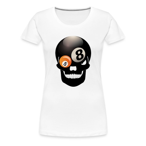 The 8-Ball T-Shirt für Damen. - Frauen Premium T-Shirt